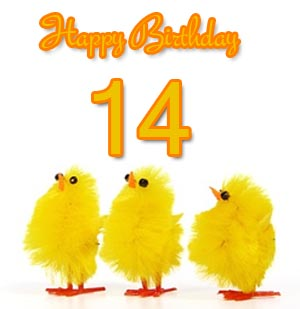 14th birthday wishes and messages bookmarktalkfo Image collections