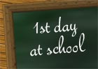 1st day at school wishes