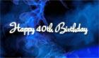 Greeting Cards 40th Birthday