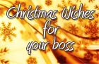 Boss Christmas Greetings