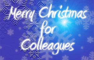 Christmas Wishes for Colleagues