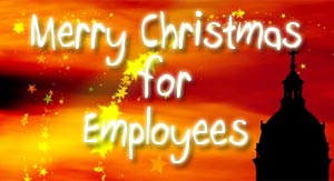 Merry Christmas for Employees
