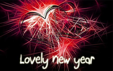 Wishes a Happy New Year with Love