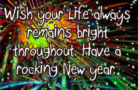 Wishing a rocking new year